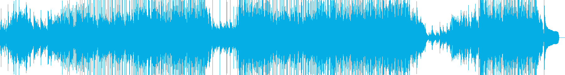 疾走感・爽やか・透明感・ポップスの再生済みの波形