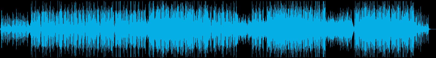 テクノCM映像用の曲企業VP爽やか幻想的の再生済みの波形