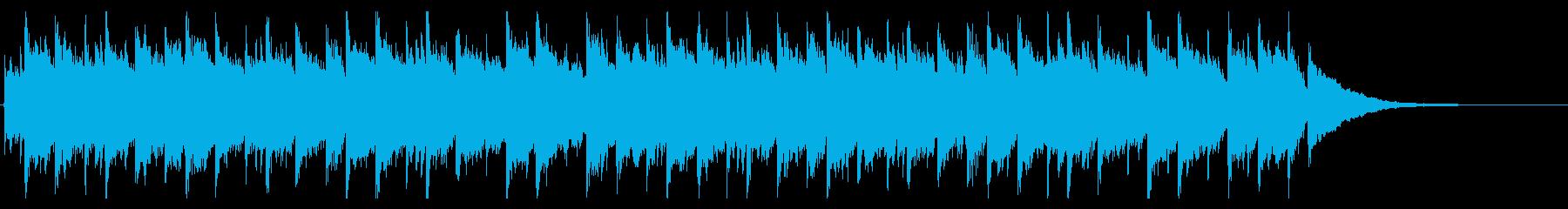企業映像10 J<60秒CM>努力、情熱の再生済みの波形