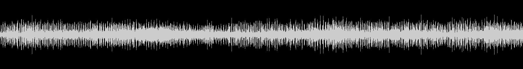 アマガエルの合唱の未再生の波形