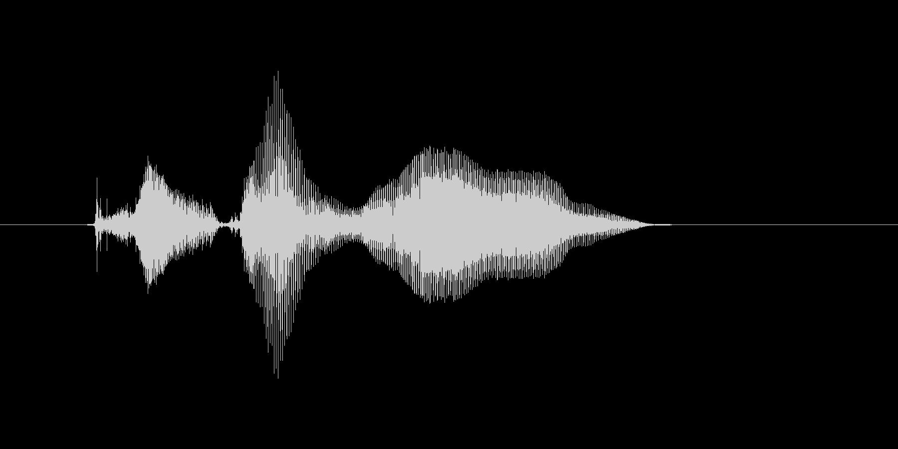 きら〜んの未再生の波形