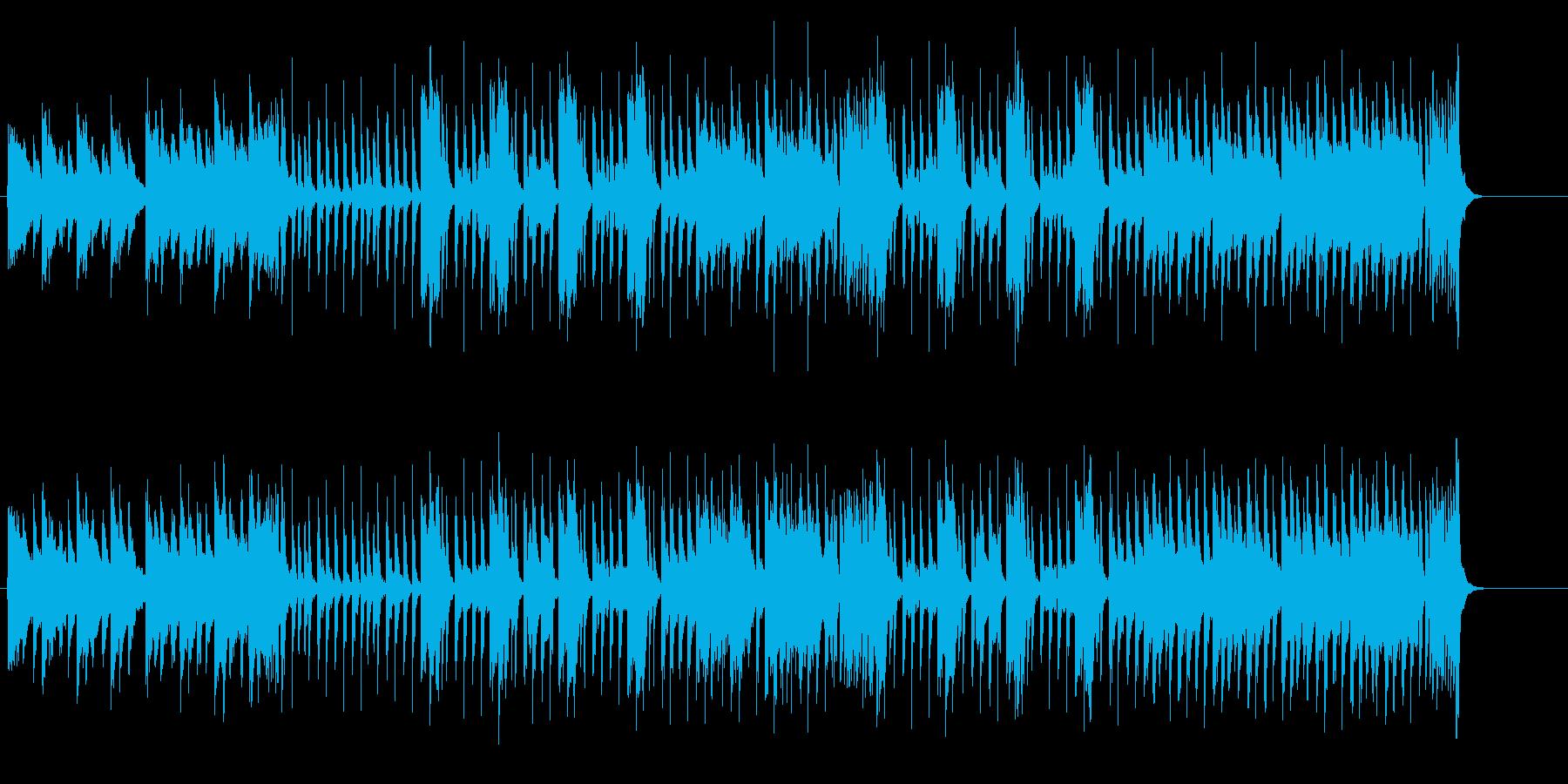 お洒落でとぼけた斬新ポップ・フュージョンの再生済みの波形
