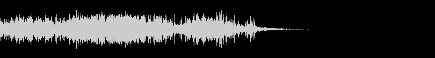 スパーク音-24の未再生の波形