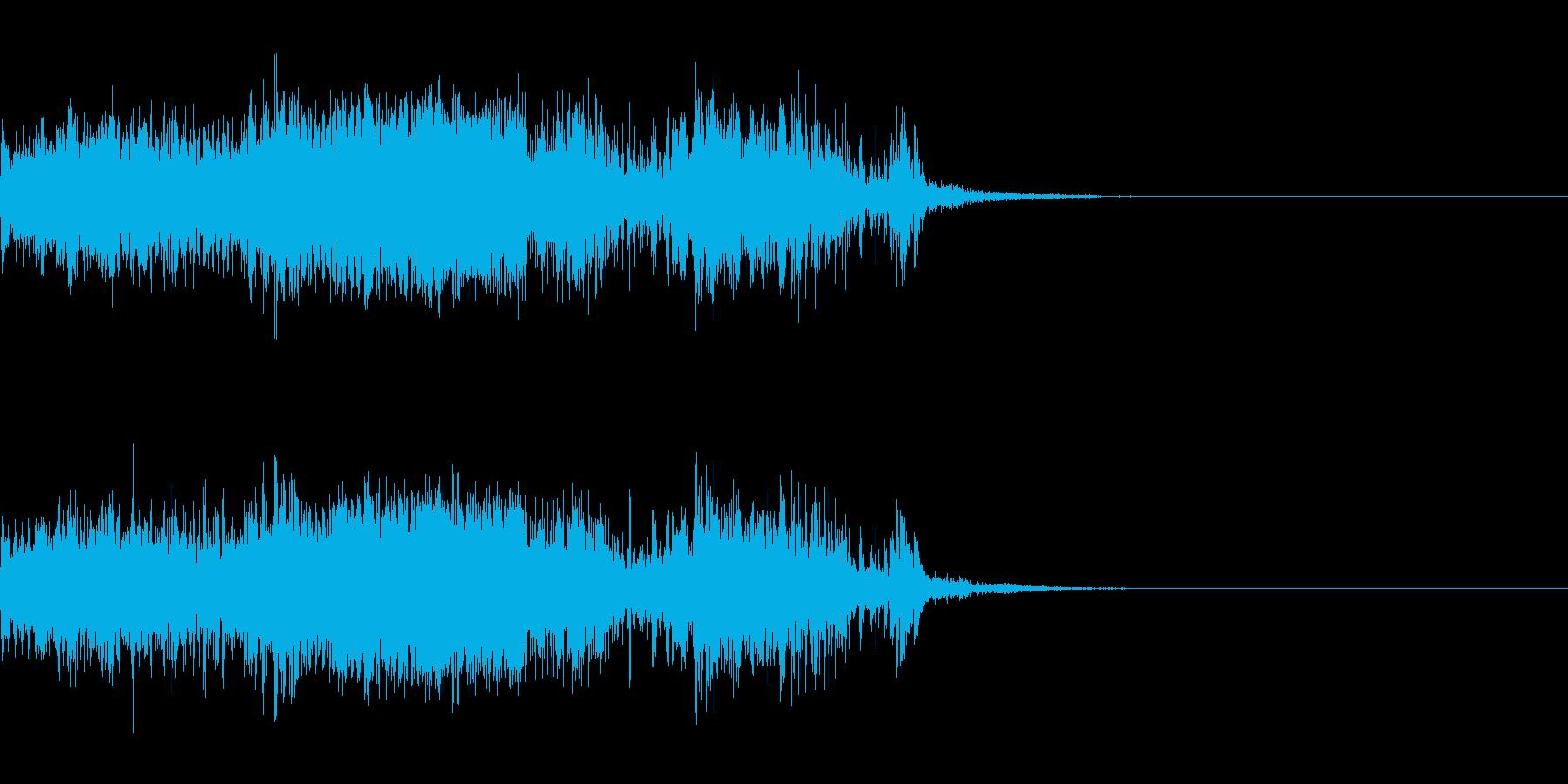 スパーク音-24の再生済みの波形