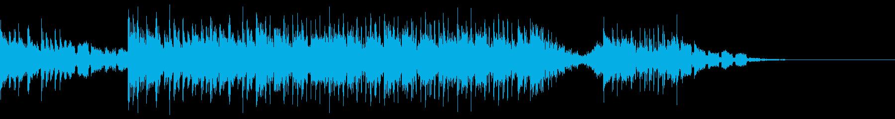 シンセリード ビートがだんだん複雑にの再生済みの波形