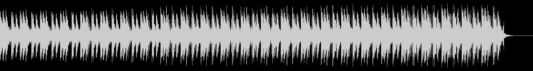 先進的な速い曲ですの未再生の波形