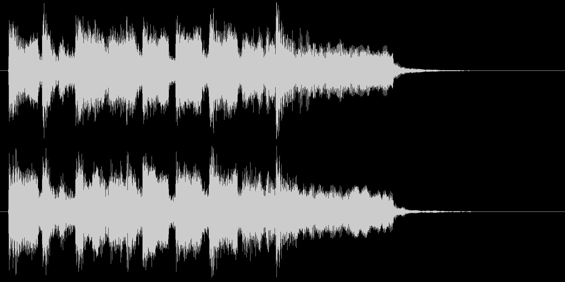 自由でノリノリなリコーダーのサウンドロゴの未再生の波形