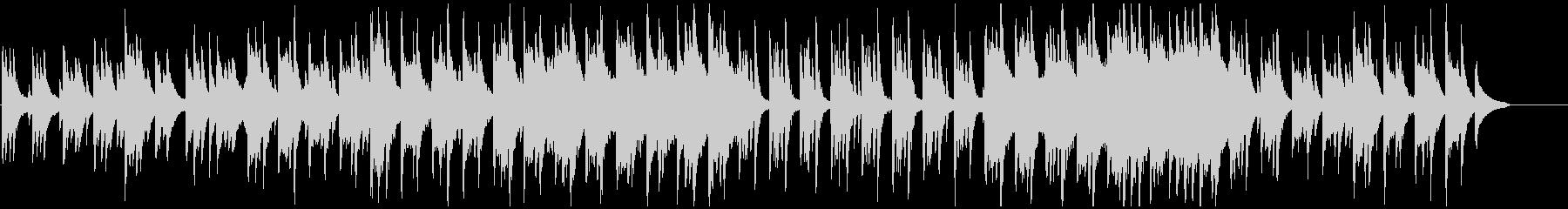 草原のようなピアノベースのバラードBGMの未再生の波形