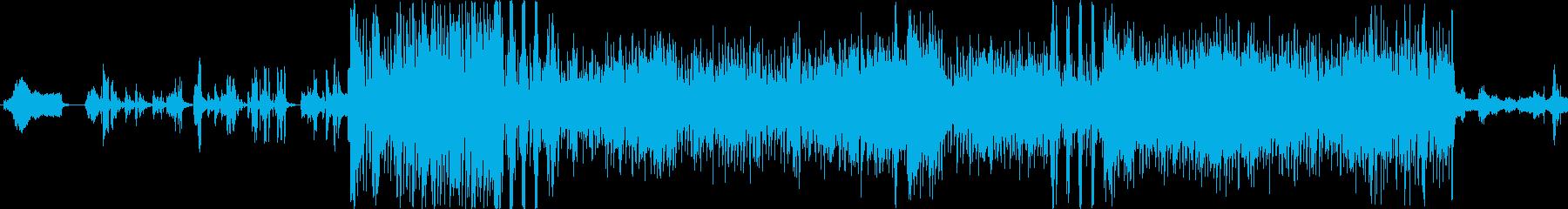 シンセソロの再生済みの波形