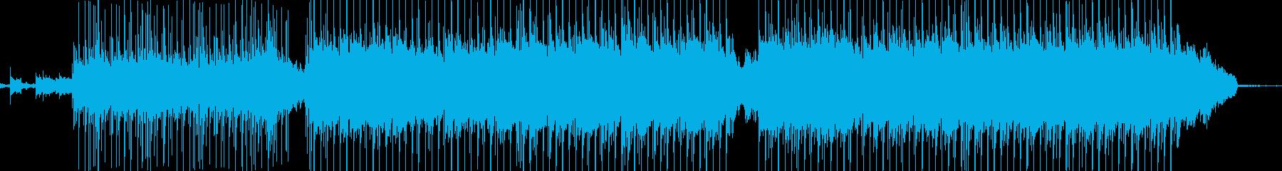 広告音楽。商業テレビのバックグラウ...の再生済みの波形