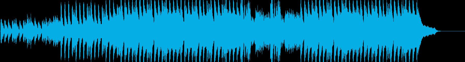 不気味で可愛いホラーオーケストラの再生済みの波形