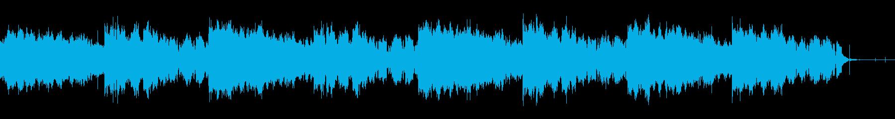 奇妙なホラーアンビエントの再生済みの波形