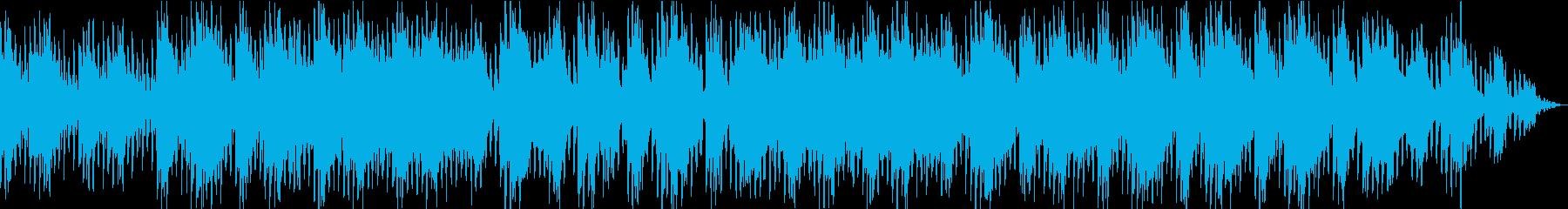 癒しのメロウギターの再生済みの波形