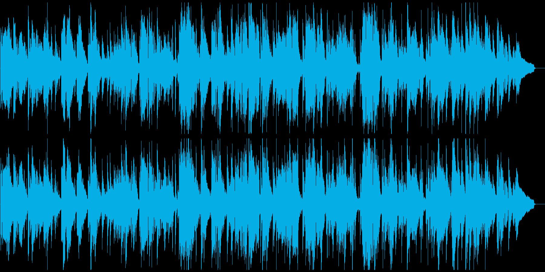 哀愁漂う切ない大人なサックスのバラードの再生済みの波形