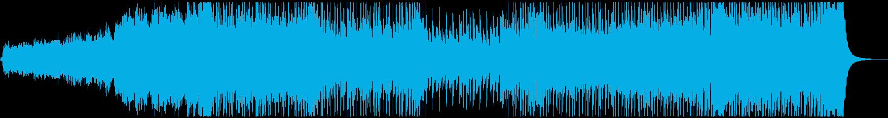 ディズニー風の冬のキラキラファンタジーの再生済みの波形