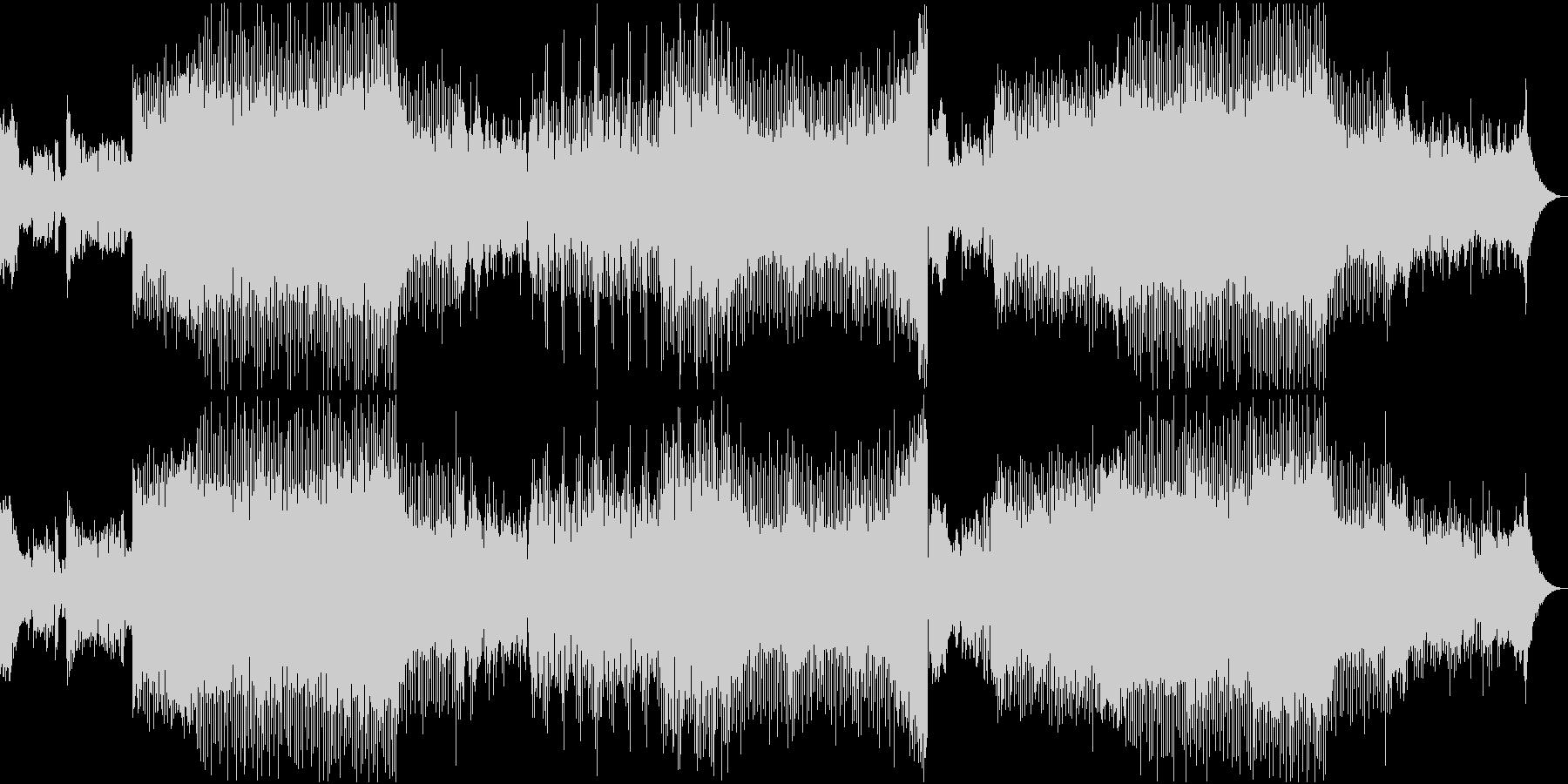 ピアノ EDM 華やか 美メロ スポーツの未再生の波形