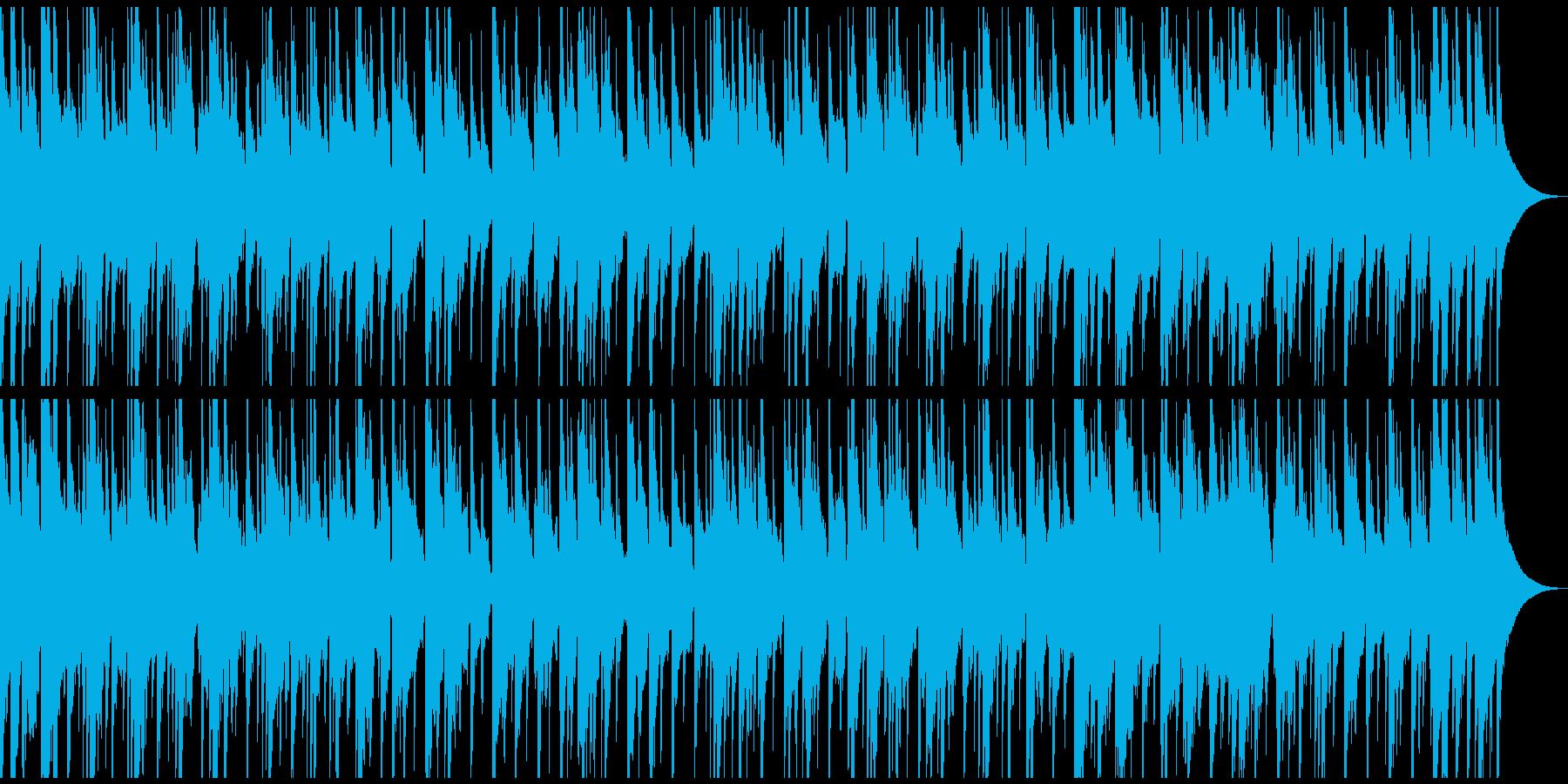 生演奏アコースティックギターのバラードの再生済みの波形