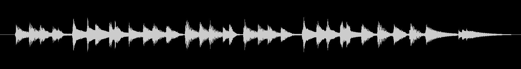 【ジングル】明るい短めのウクレレの未再生の波形