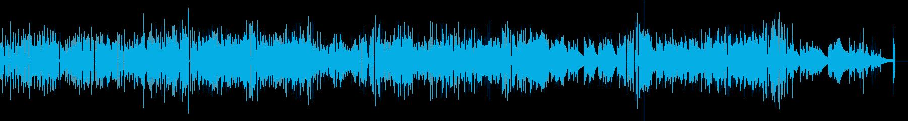 クールなジャズピアノソロ曲の再生済みの波形