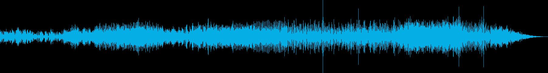 地下ダンジョンでの冒険シンセBGMの再生済みの波形