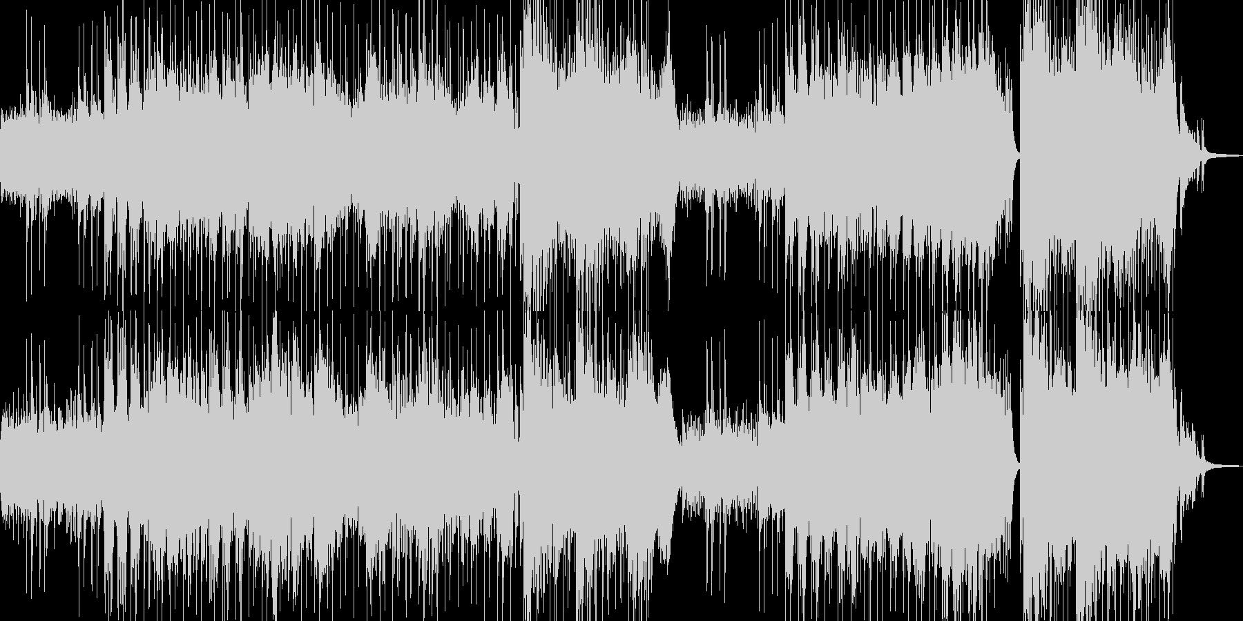異世界・故人を想う雰囲気・ドラム有 長尺の未再生の波形