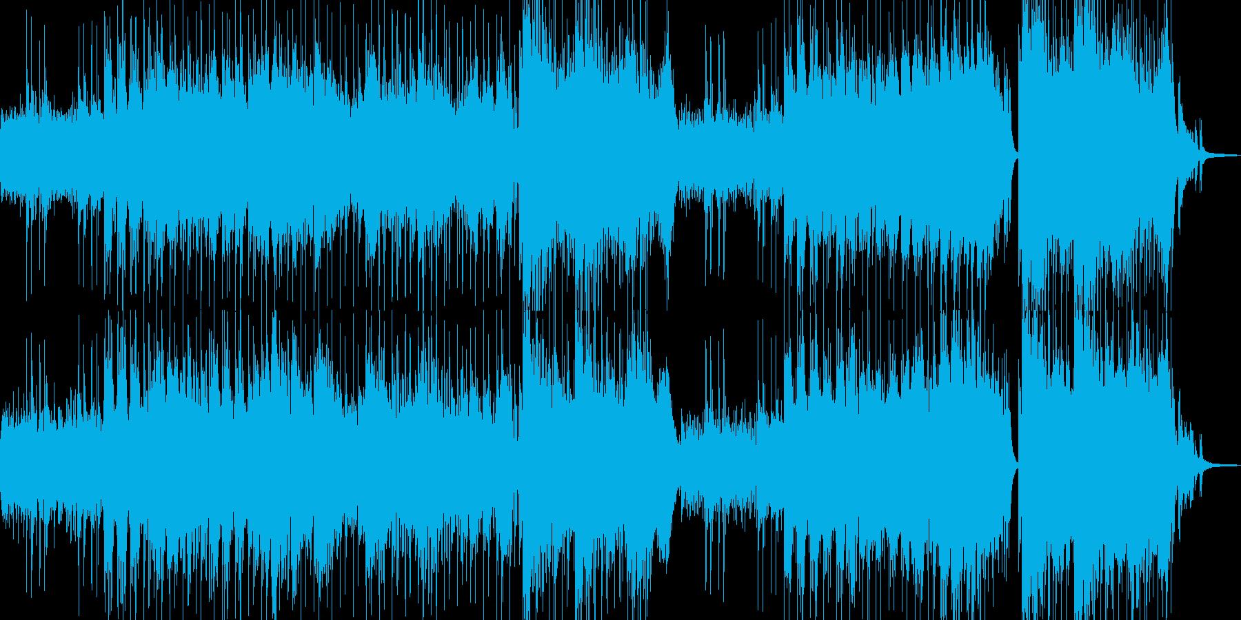 異世界・故人を想う雰囲気・ドラム有 長尺の再生済みの波形