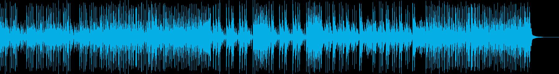 生演奏三味線 和風ロック和を伝えるBGMの再生済みの波形