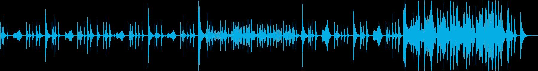 【動画】コミカルなストリングス【短縮版】の再生済みの波形