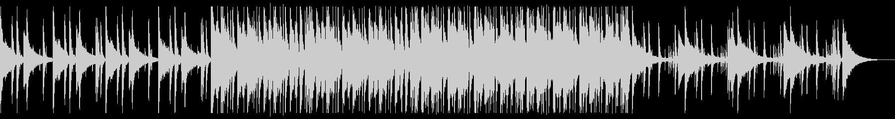 懐かしい雰囲気のチルR&B_3の未再生の波形