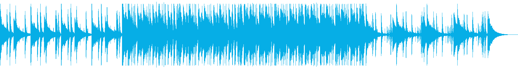 懐かしい雰囲気のチルR&B_3の再生済みの波形