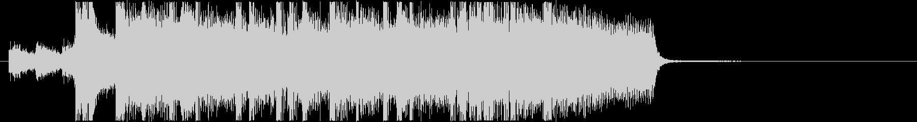 生演奏メタルなアイキャッチ6の未再生の波形