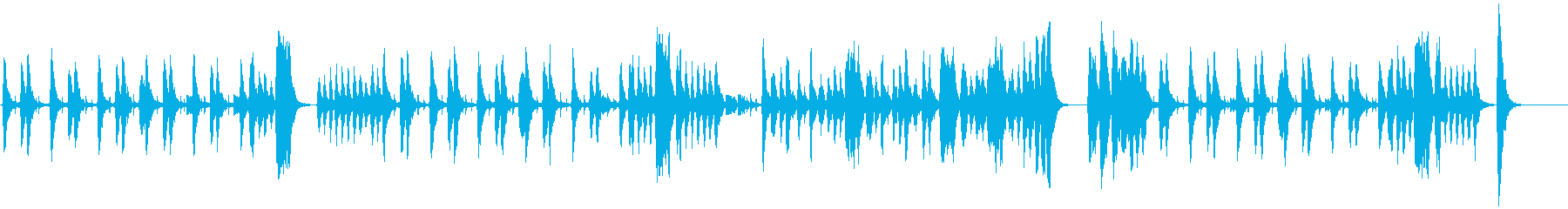 怪しい 不安 推理 奇妙 ストリングスの再生済みの波形