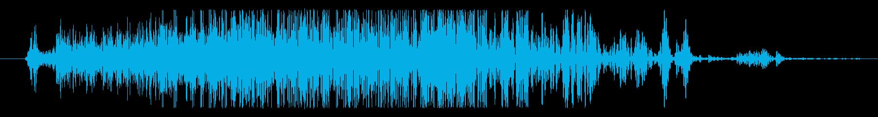 石 ゲートオープン01の再生済みの波形