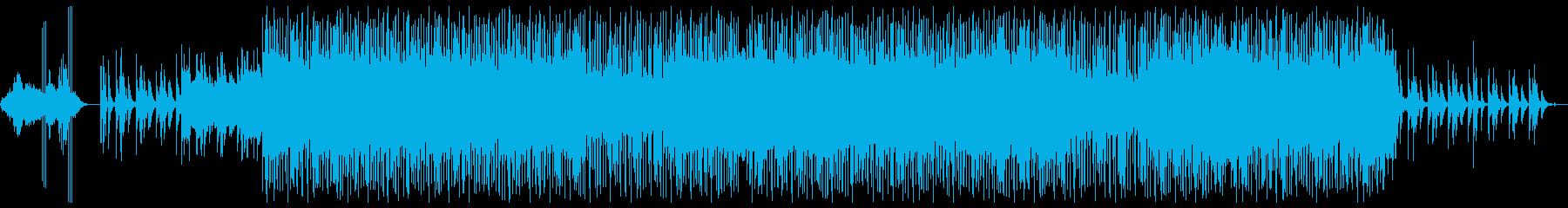 インスピレーションあふれるヒップホ...の再生済みの波形