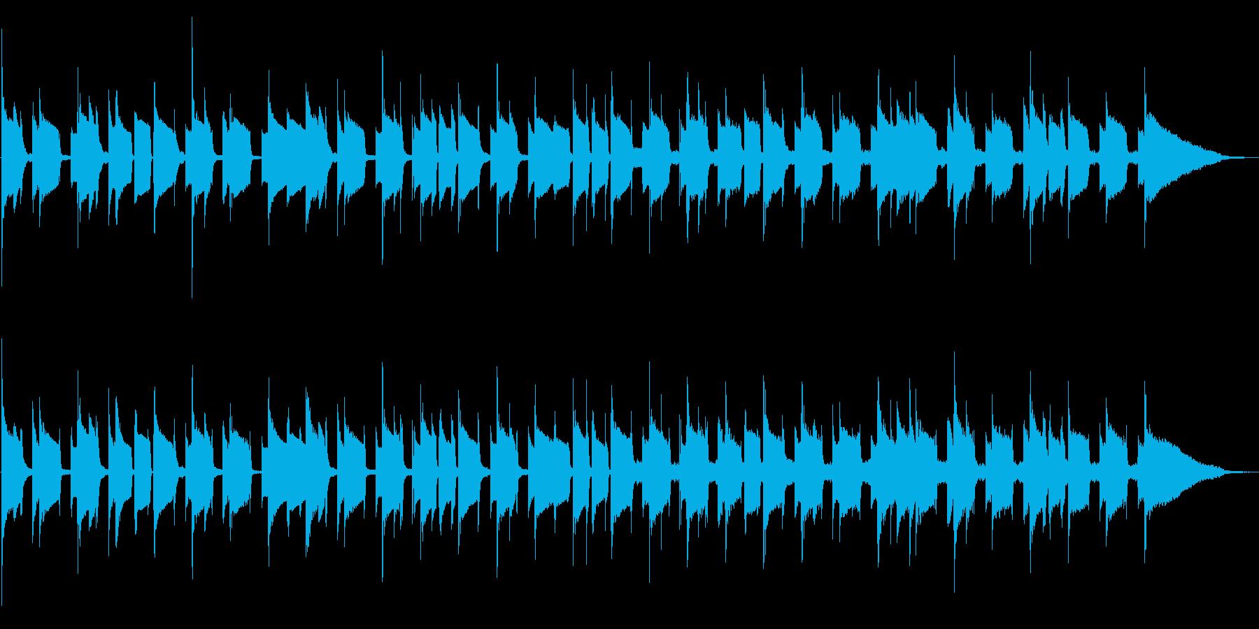 シロフォンののんびりスイングの再生済みの波形