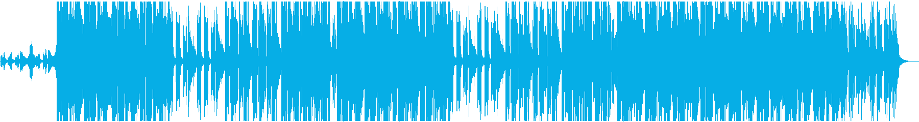 ワイルドで切ないBGMの再生済みの波形