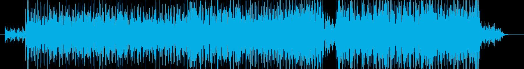 星屑の再生済みの波形