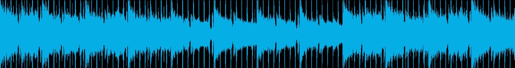 おしゃれなlofiトラック ループの再生済みの波形