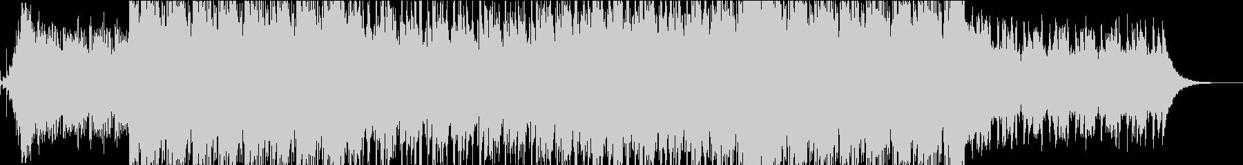 低音のピアノリフが緊迫感を煽る夜の戦闘曲の未再生の波形