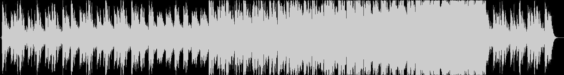ダークで怪しい不協和なオーケストラBGMの未再生の波形
