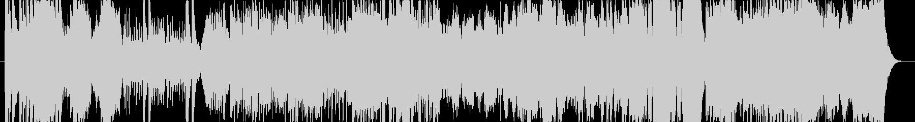 オーケストラ調の戦闘曲の未再生の波形