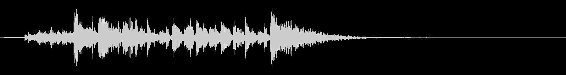 コーポレートラダーの未再生の波形