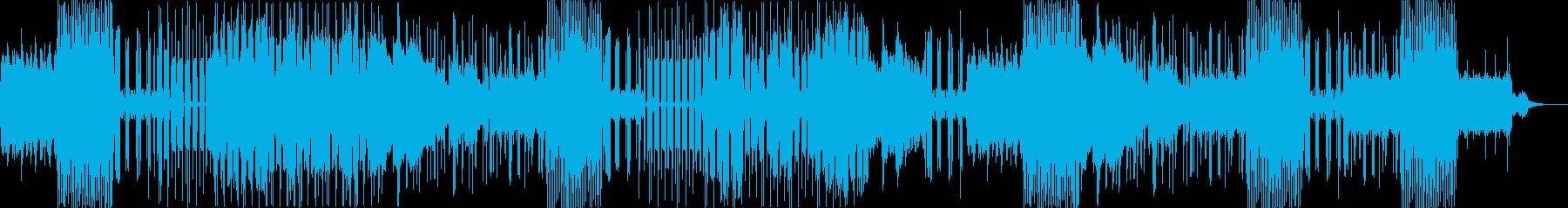 ロマンス系のヒップホップの再生済みの波形