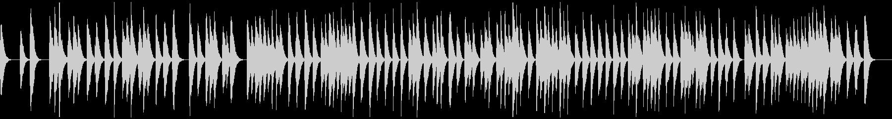 和の表現に最適(箏曲・六段の調)の未再生の波形