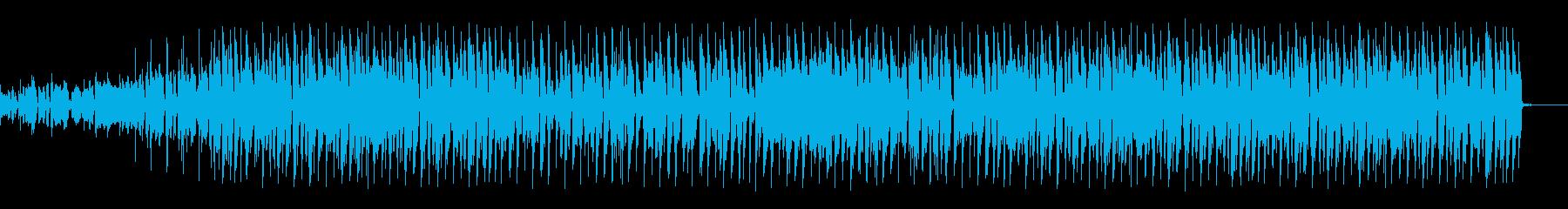おしゃれでキャッチーなエンディングの再生済みの波形