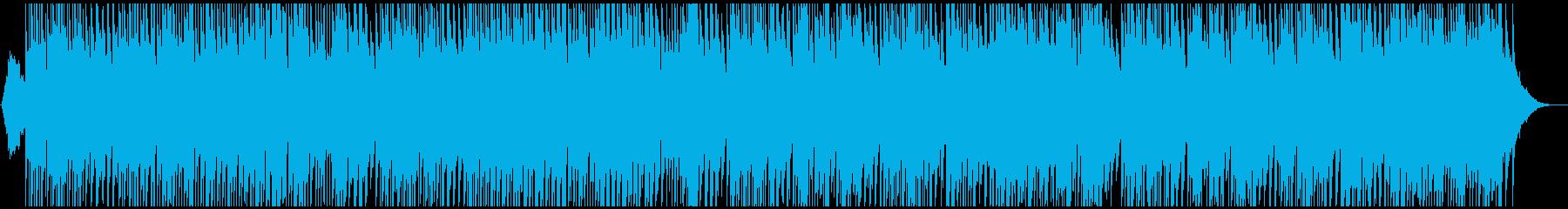 沖縄三線でのんびり聞くビバルディの再生済みの波形