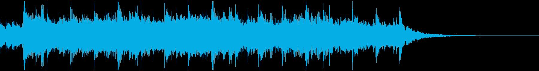 ジブリ風で幻想的なバラードの再生済みの波形