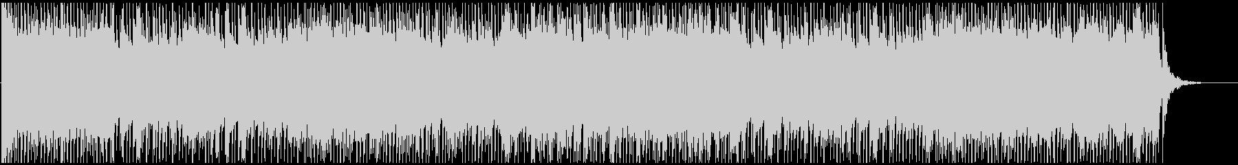 軽快で穏やかなビブラフォンのBGM曲の未再生の波形