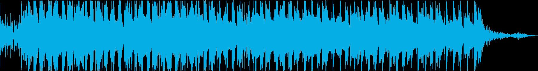 HIPHOP EDM トロピカル 哀愁の再生済みの波形