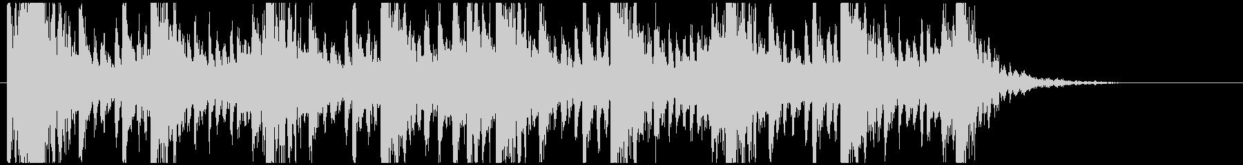 和太鼓のリズム2 残響ありBPM140の未再生の波形